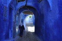 Blu marocco