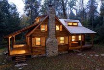 Log home traditional