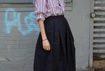 Falda + pantalón