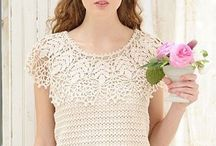Tops / Lots of lovely lacy crocheted tops