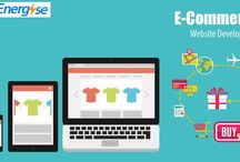 eCommerce website / Web Energise, a complete eCommerce solution.