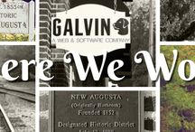 Around the Galvin Office / The Galvin Technologies office is located in Indianapolis' historic New Augusta.  Here are some things around the office we enjoy.
