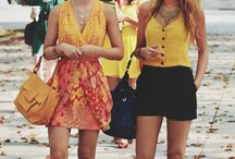 Summer outfits / Fun, colorful, playful pieces for the warm destination