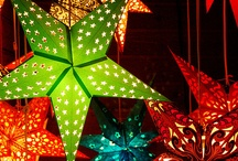 Star lanterns / This is a star mostly used in the traditional German Christmas . They are origami stars