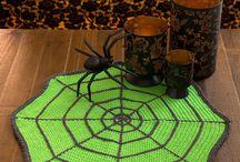 Kötött, horgolt Halloween (knitted crochet Halloween) / Horgolt, kötött ötletek halloween alkalmára