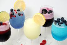 Wine Slushie Drinks / Whether you call it a wine slushie, wine slushy, wine slush, or wine frappe, it just tastes good! Ice, the dry mix package we offer, a bottle of wine (or hard liquor) whipped together in a blender. Instant wine slushies in 30 seconds! http://www.thewineslushieguy.com/