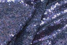 Heavy sequin fabric