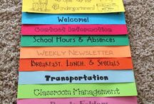 Preschool - Classroom/procedures