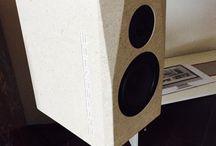 CLAPSONADE / altoparlanti in pietra costruiti artigianalmente con componenti di altissima qualità totalmente progettati e prodotti in Italia