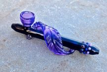 Beautiful pipes and bongs