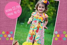 Girls Romper PDF Sewing Patterns
