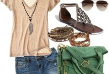 summer outfits / by Crystal Grover