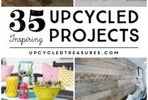 Upcycled Decor / DIY Home Decor. Add a little upcycled decor to your homes to add unique flair while cutting back on your waste.