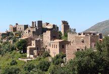 Mani / Mani Greece Mediterranean castles