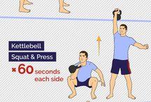 Kettlebell exercices