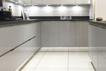 kitchen grey white