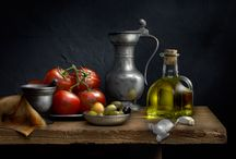 Harold Ross / Still life photography (light painting)
