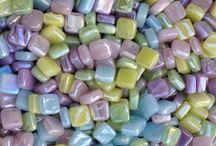 Easter/Pastel Crafts / All Pastel mosaic crafting supplies.