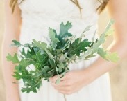Leafy Bridal Bouquets / Leafy bouquets for your bridesmaids.