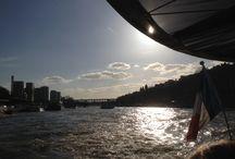Rondvaart over de Seine in Parijs / Bezienswaardigheden vanaf het water in Parijs, tijdens een rondvaart over de Seine.