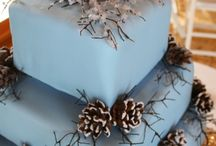 Winter Wedding Cakes / by Diane Castro