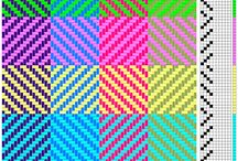 4 shaft weaving