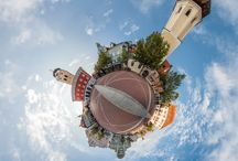 Little Planets / Little Planets - stereographische Panoramen