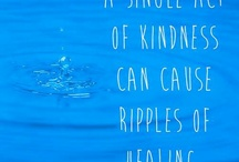 The Kindness Board / Kindness rocks - use random acts of kindness every day and see how much happier you become.  gratitude, helping others, random acts of kindness,