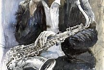 Jazz art / by Eugene Keshett