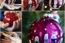 Kerst decoraties zelf maken / Kerst diy