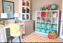 Office/Playroom Combo / by Kari Mulder