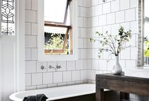 Heritage Home Washroom / Old homes mean tricky bathroom designs. I'm always on the hunt for a great bathroom plan.