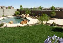 Backyard ideas / Backyard ideas and DIY  / by Wesley Coble