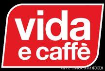 Vida e Caffe 'Life and Coffee' / This board illustrates the lifestyle of Vida e Caffe customers