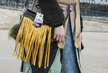 Fringed Purses