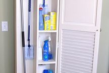 CLEANING SPACE / clening, box, organization