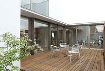 Deck terrace / デッキテラス