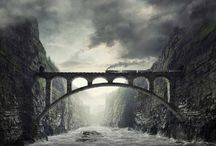 Matte painting / cgi, 3d illustrations, photography, advertising, matte painting