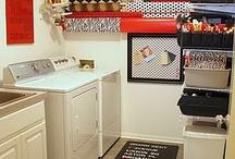 Washroom laundry room