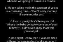 scary things children say