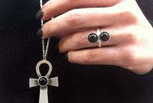 My Jewelry My inspiration / On Etsy . Necklace , Earrings , Bracelet , Rings