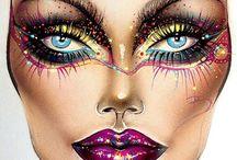 Make-up cards