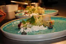 Gerechten klanten / Klanten, horeca met hun gerechten op onze artikelen uit de winkel
