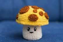 crochet mushrooms