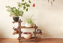 Plants / Flowers stand and pot