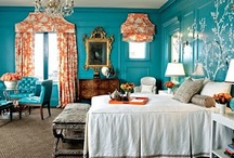 TURQUOISE + TANGERINE / Delightful details for your home in fresh, bold colors we can't get enough of. / by Overstock.com