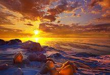 Sunsets/sunrices