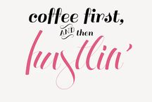 But first, Coffee ☕️ / by Chelsea B.