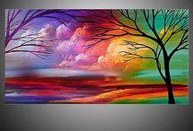 cuadros pintados