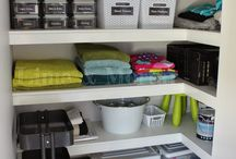 Organisation - Linen Cupboard